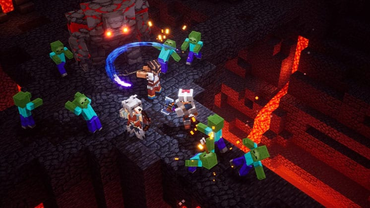 Minecraft Dungeons Crossplay Explained