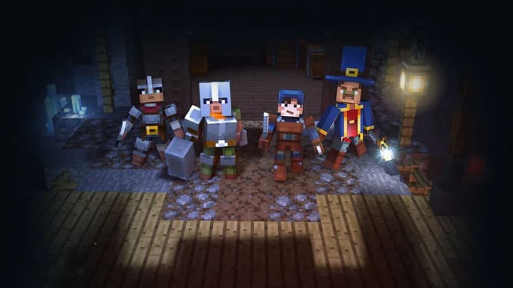 Minecraft Dungeons How To Set Up Multiplayer