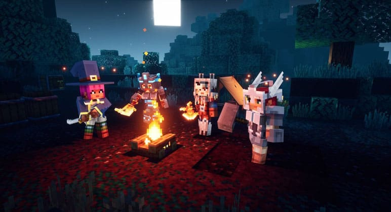 Minecraft Dungeons Multiplayer Explained