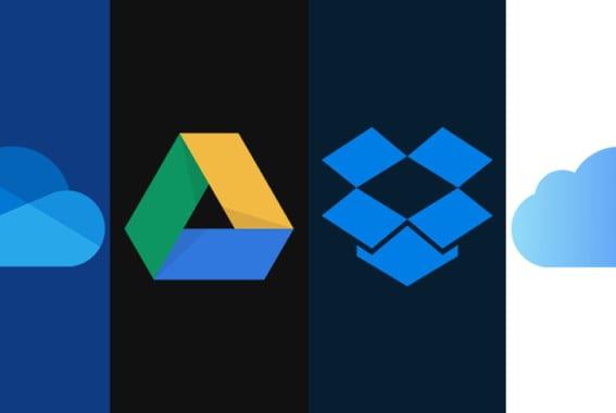 OneDrivs vs Google Drivs vs Dropbox vs iCloud