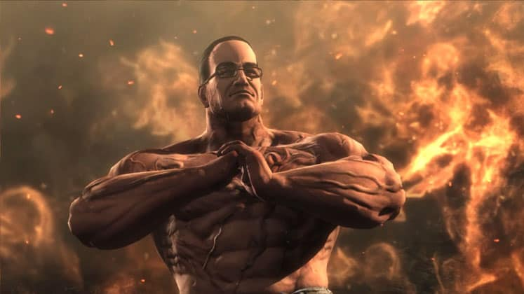 Senator Armstrong – Metal Gear