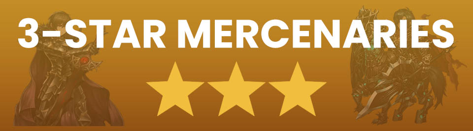 Brave Nine best 3 star mercenaries