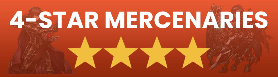 Brave Nine best 4 star mercenaries