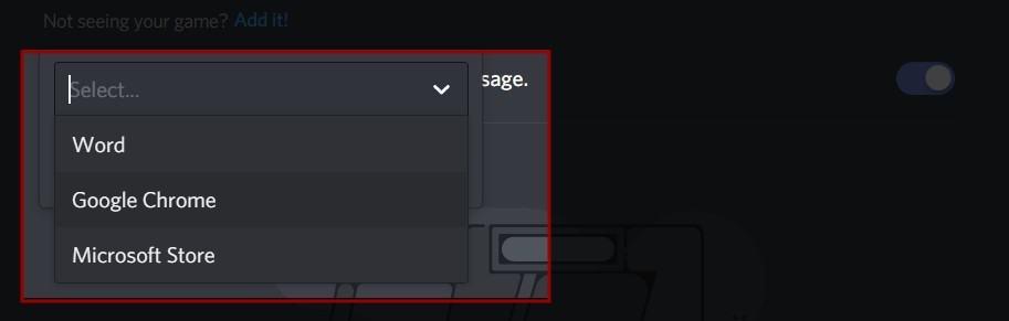 Discord Screen Share No Audio Find program to add