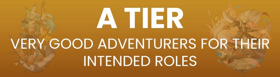 Dragalia Lost Adventurer Tier List A Tier