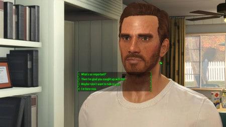 Fallout 4 Full Dialogue Interface