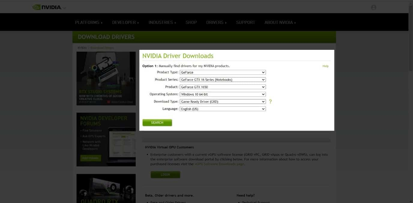 How To Download The Correct Nvidia GeForce Experience Version