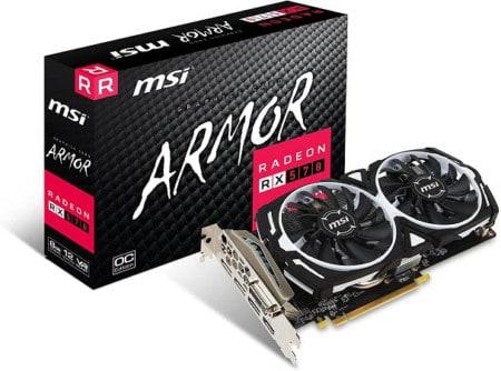 MSI Radeon RX 570 ARMOR OC 8GB