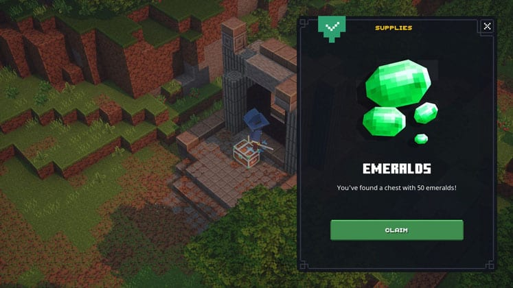 Minecraft Dungeons Emeralds