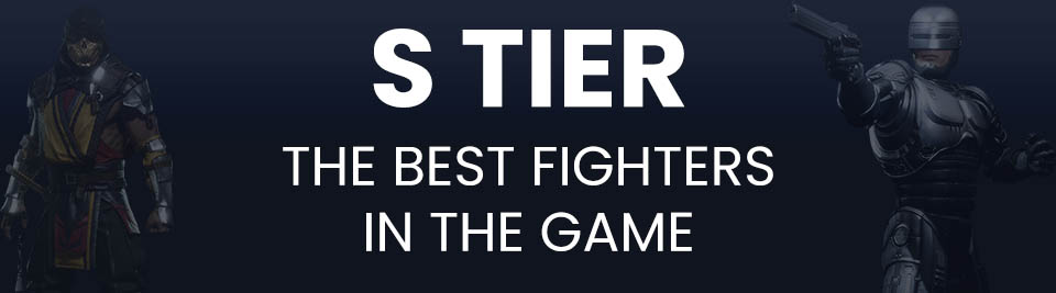 Mortal Kombat 11 Tier List S Tier