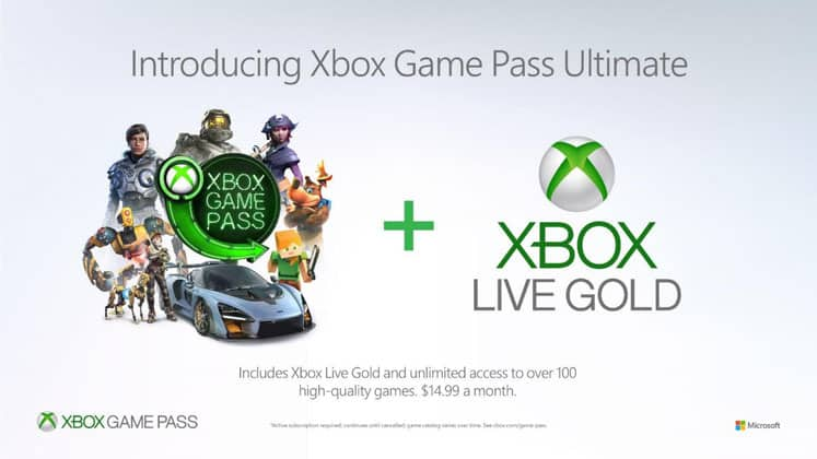 Xbox Live Gold vs Game Pass