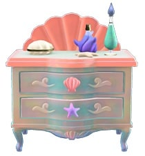 ACNH Mermaid Dresser