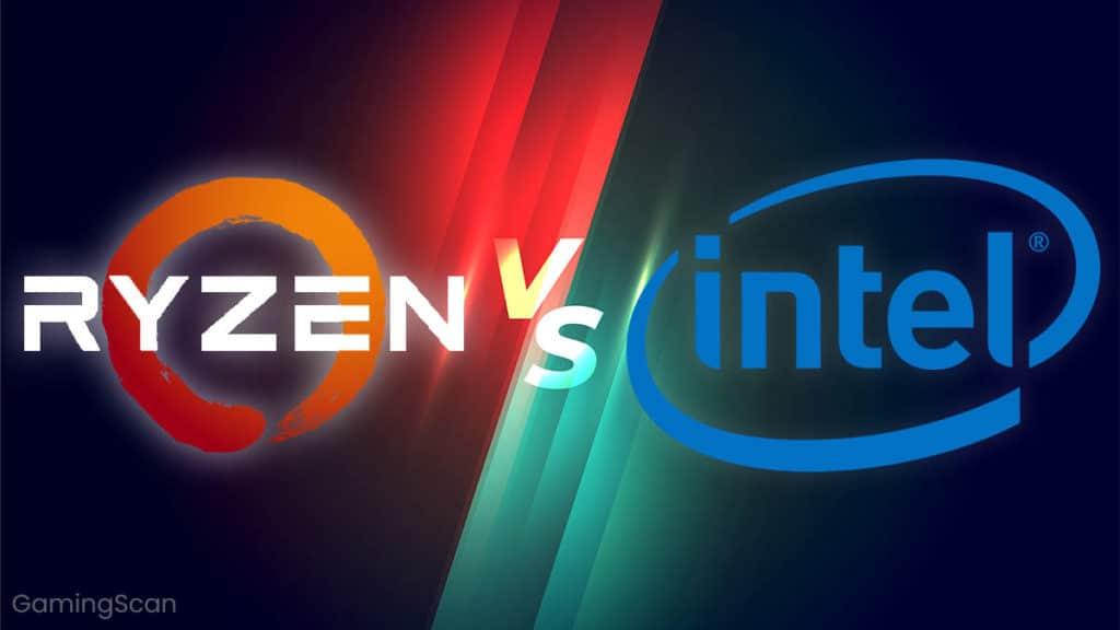 AMD Ryzen vs Intel