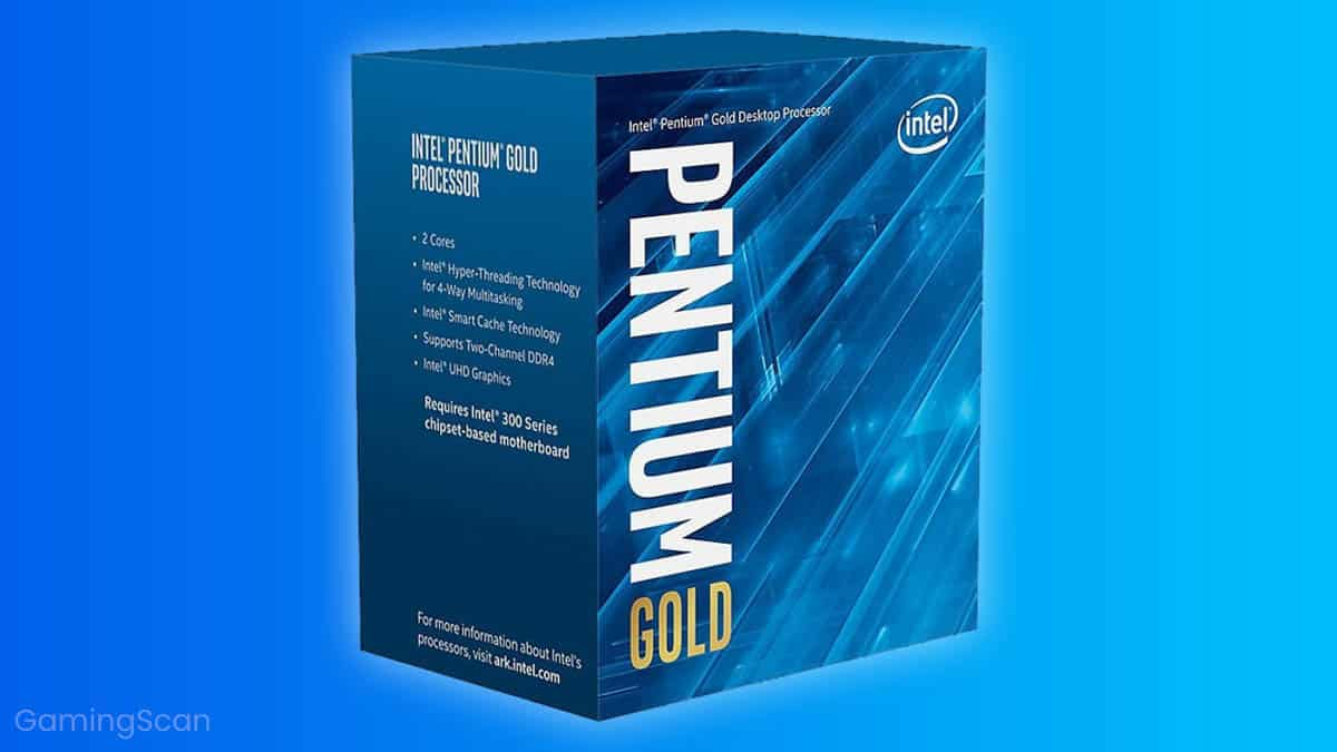 Dual Core CPU For Gaming