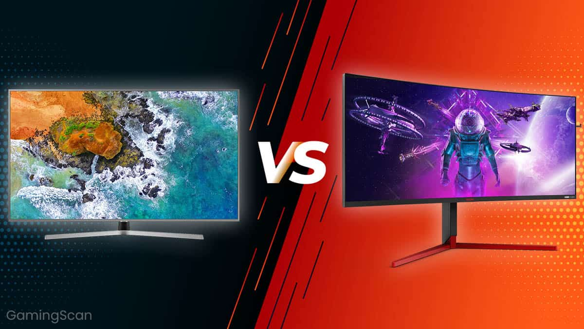 TV vs Monitor