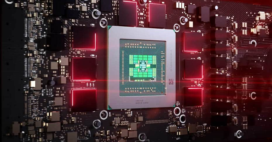 AMD Radeon RX 6000 Chip