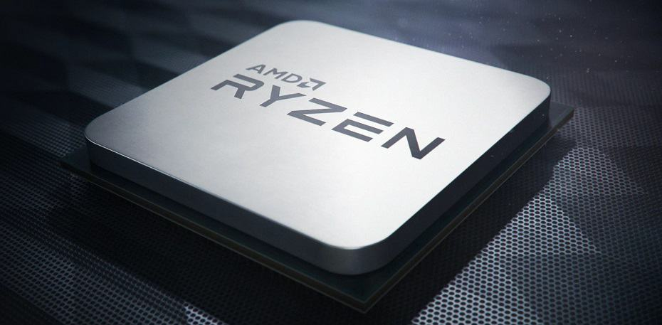 AMD Ryzen Close up
