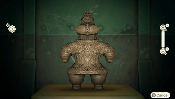 Animal Crossing New Horizons Ancient Statue