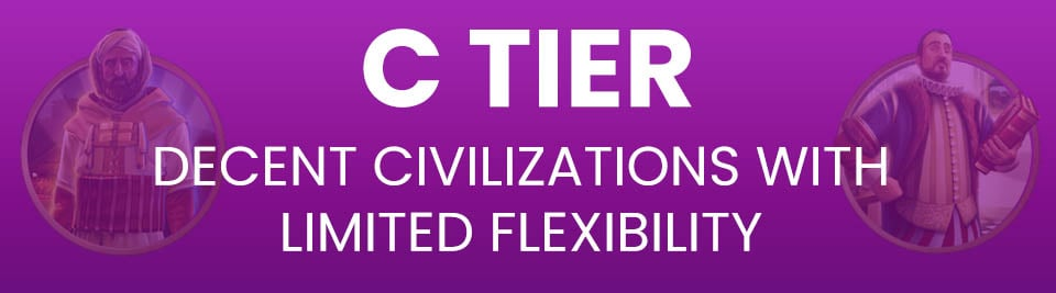 Civ 5 Tier List C Tier