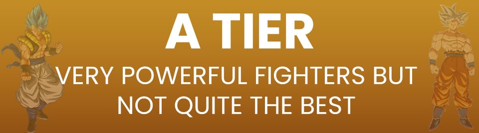 Dragon Ball FighterZ Tier List A Tier