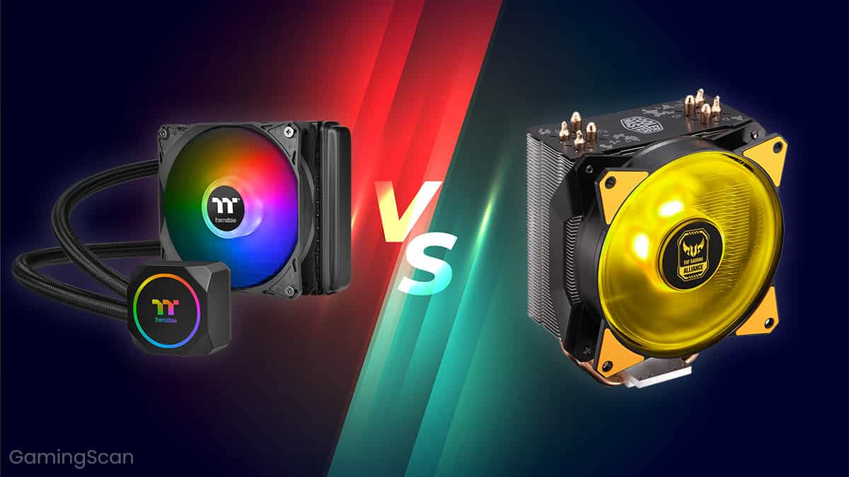 Liquid vs Air CPU Cooler