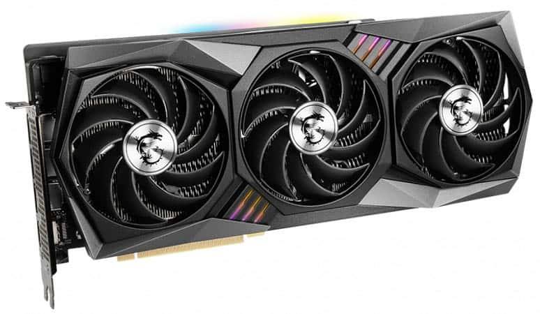 MSI GeForce RTX 3080 GAMING TRIO