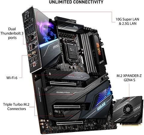 MSI MEG Z490 GODLIKE Motherboard