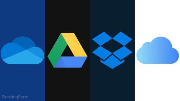 OneDrive vs Google Drive vs Dropbox vs iCloud