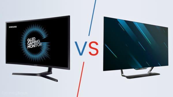 QLEDS vs OLED Monitor
