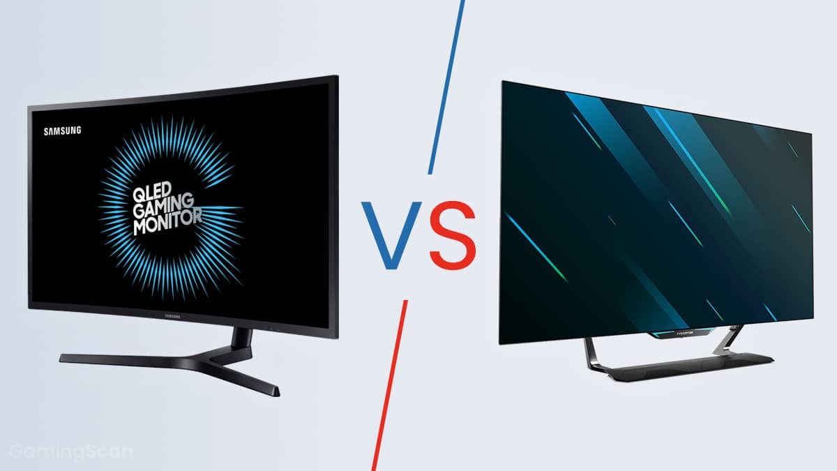 QLEDS vs OLED Monitor