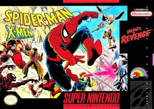 Spider Man And The X Men In Arcades Revenge