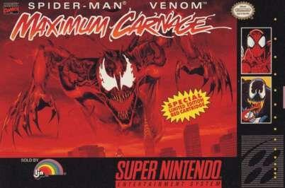 Spider Man And Venom Maximum Carnage