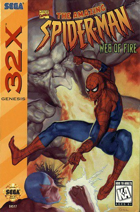 Spider Man Web of Fire