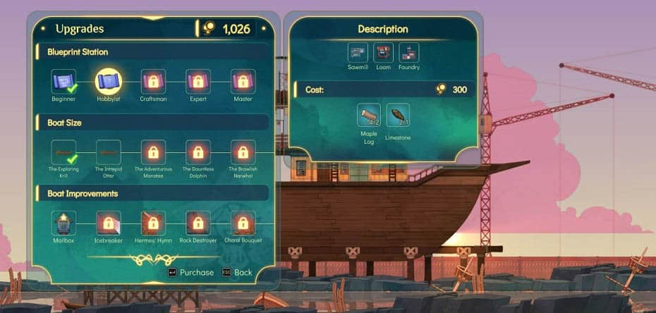 Spiritfarer All Ship Upgrades