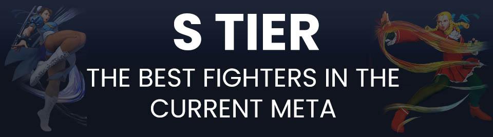 Street Fighter V Tier List S Tier
