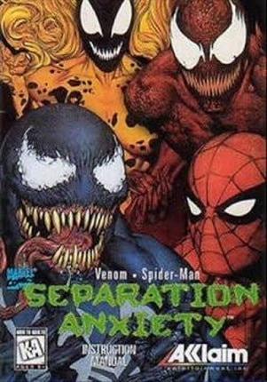 Venom Spider Man Separation Anxiety