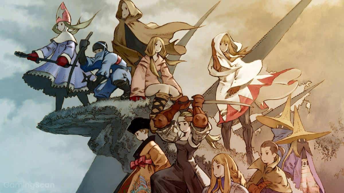 best games like final fantasy tactics