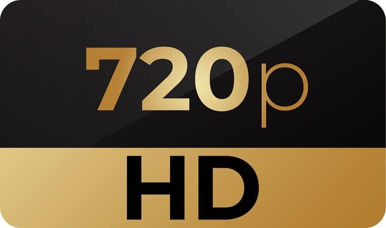 720p HD logo