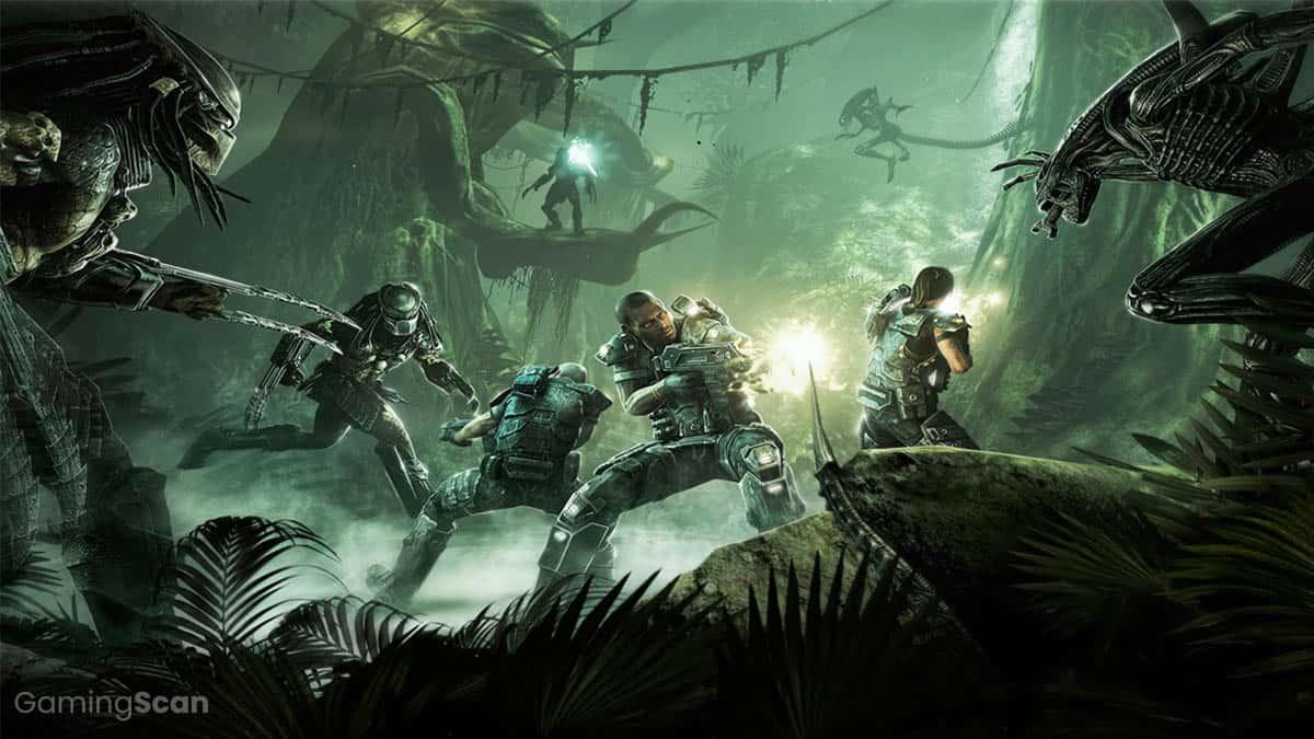Alien vs Predator Games In Order
