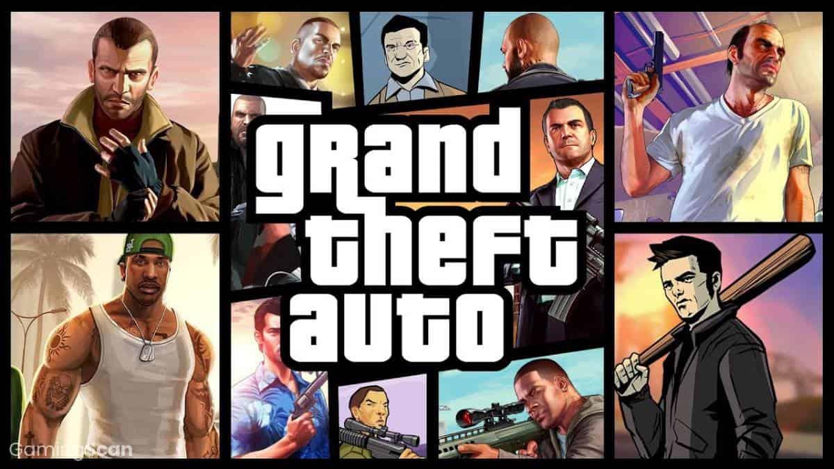 Grand Theft Auto GTA Game Order