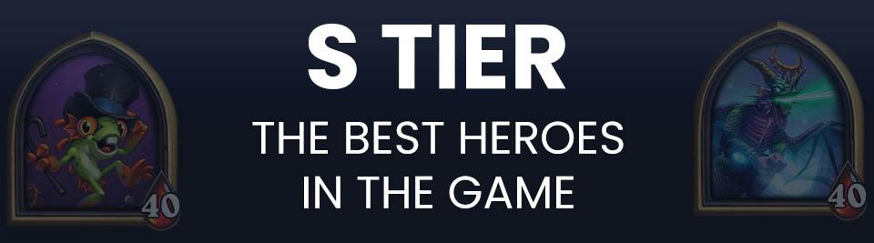 Hearthstone Battlegrounds Tier List Tier S