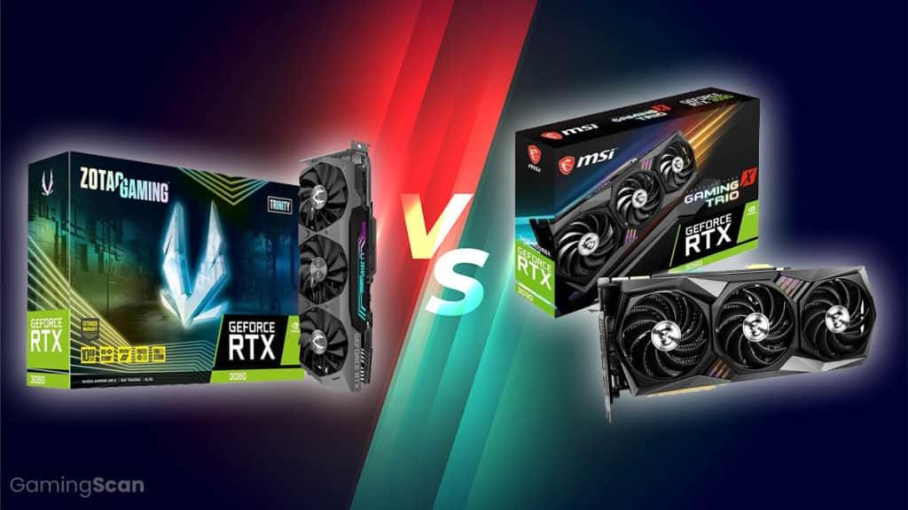 RTX 3080 vs RTX 3090