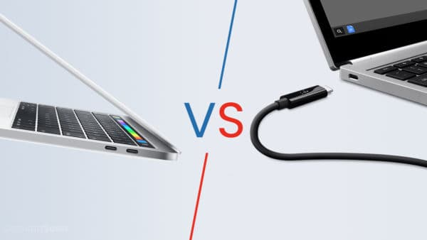 Thunderbolt 3 vs USB C
