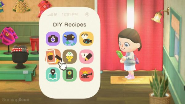animal crossing new horizons how to get diy recipes