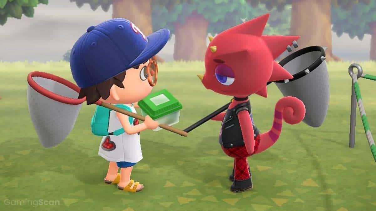 animal crossing new horizons sell bugs to flick