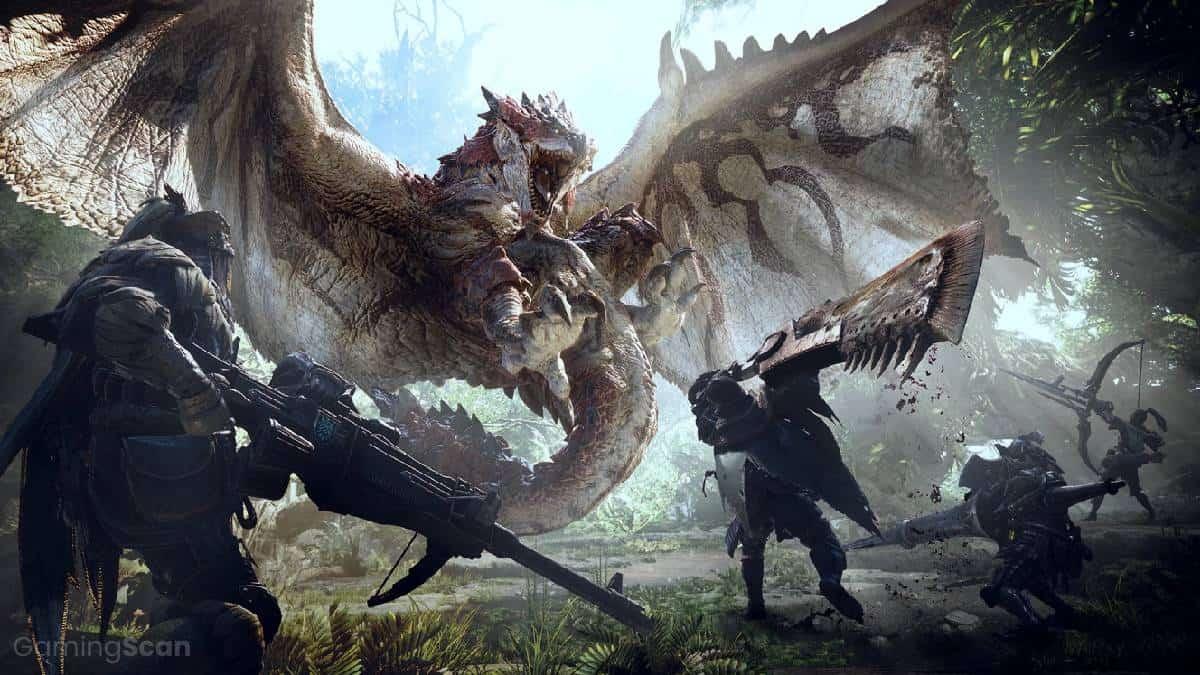monster hunter games in order