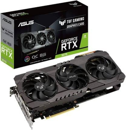 ASUS TUF Gaming GeForce RTX 3070 OC Edition