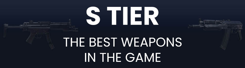 Call of Duty Black Ops Cold War Weapons Tier List Tier S