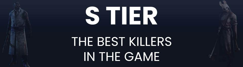Dead by Daylight Killers Tier List S Tier
