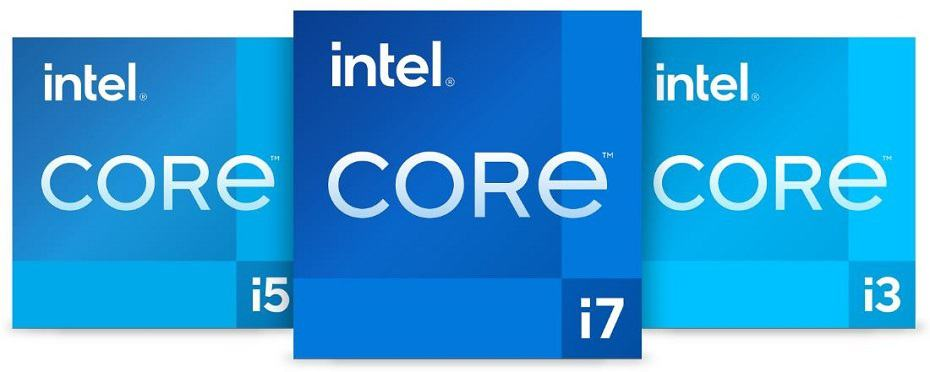 Intel Core i3 i5 and i7